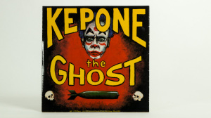 Kepone - the Ghost seven inch sleeve cover