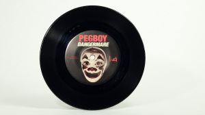 Pegboy -0Dangermare seven inch label