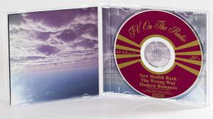 TV On The Radio - New Health Rock CD jewel Case gatefold w/cd face