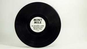 Mint Mile - In Season & Ripe LP disc A side