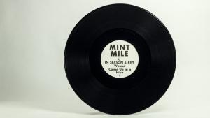 Mint Mile - In Season & Ripe LP disc B side