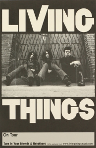 Living Things - Turn In Your Friends And Neighbors poster