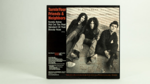 Living Things - Turn In Your Friends And Neighbors ten inch cover back
