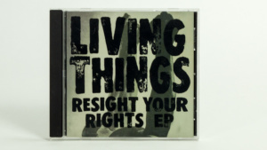 Living Things - Resight Your Rights CD EP cover
