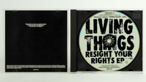 Living Things - Resight Your Rights CD EP gatefold