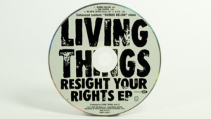 Living Things - Resight Your Rights CD face