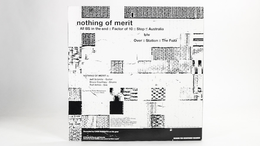 Nothing Of Merit – Use Of Ease