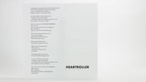 Mint Mile -Heartroller Insert front