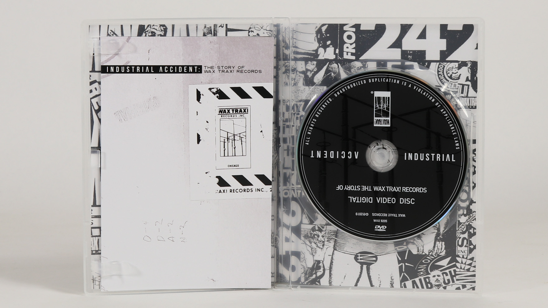 Wax Trax! – Industrial Accident [DVD]