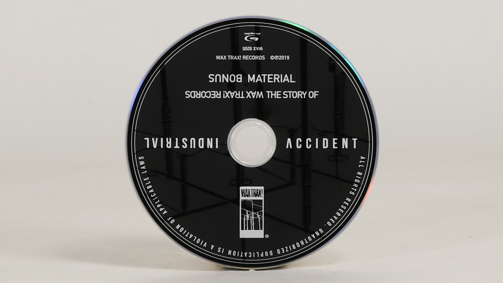 Wax Trax! – Industrial Accident [Blu-ray + bonus]